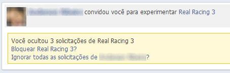 Facebook - Bloquear solicitações de jogos