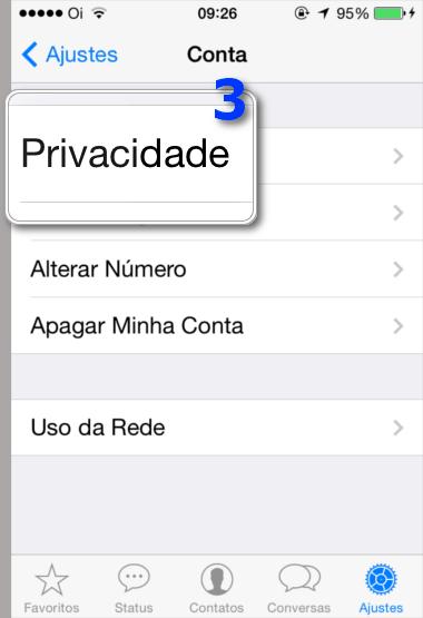 Bloquear Contatos WhatsApp - Privacidade